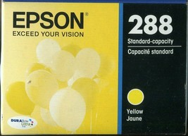 New Genuine! Epson 288 Standard Capacity Yellow Ink Cartridge EXP. 06/2021 - $8.90