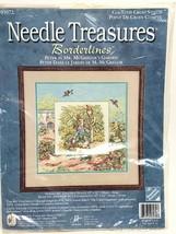 Peter Rabbit Mr McGregor Garden Needle Treasures Cross Stitch Kit New 03072  VTG - $36.62
