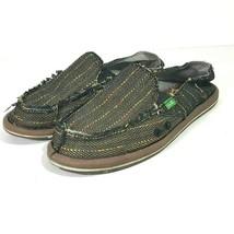 Sanuk Women's Sidewalk Surfer Loafers Slip Ons Size US 7 Brown - $19.79