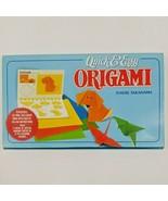 Vintage 1991 Origami Starter Kit Quick & Easy Toshie Takahama Japan New ... - $19.74