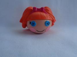 Lalaloopsy Mini Orange Hair Bea Spells-a-Lot Doll Head Pencil Topper - $1.14