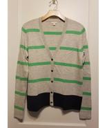 Gap Women's Color-block Cardigan Sweater Multicolor Nylon Wool Size M, P... - $22.23