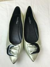 Women's Michael Antonio Metallic flats point toe Shoes Size 8 (2) - $23.33