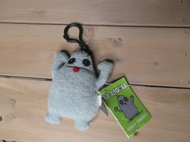 UGLY DOLL ugly Ghost Keychain Clip On Plush NEW w Tags UGLYDOLL - $14.84