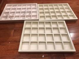 Authentic Trollbeads Retail Display Storage Trays, Set of 3 (Set B) - $18.99