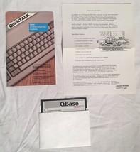 """QBASE DEMO Vintage DOS Utility Software 5.25"""" Disk & Manual Crescent Sof... - $11.87"""