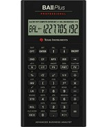 Texas Instruments - BA II Plus - Professional Financial Calculator - $69.25