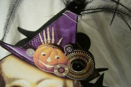 Bethany Lowe Skeleton Steampunk Halloween Treat Candy Container image 2