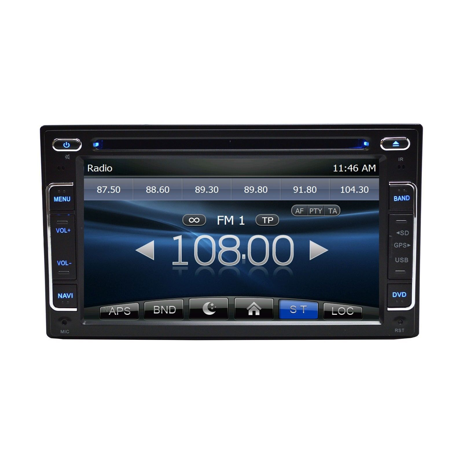 """6.2"""" DVD Navigation Touchscreen Multimedia Radio for 2012 Ford Taurus image 5"""
