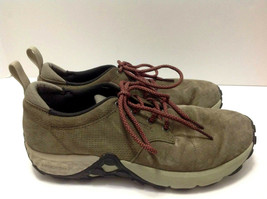 Merrell Womens 10 Jungle Lace Dusty Olive Comfort Trail Walking Shoes Sneakers - $39.59