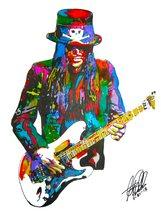 "Mick Mars, Motley Crue, Lead Guitar, Guitarist, Heavy Metal, 18""x24"" Art... - $19.99"
