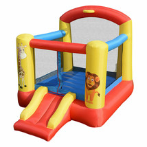 Inflatable Jumping Bounce House with Animal Patterns - $139.82