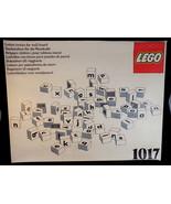 Vintage Lego 1017 Letter Bricks for Wall board ULTRA RARE complete set f... - $3,617.00