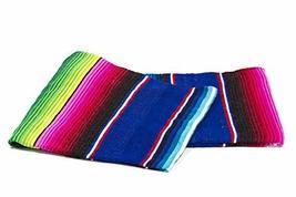 Sarape Mexican Serape Saltillo Blanket (X-large, Blue) Heavy Authentic T... - €21,95 EUR