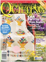 Back Issue of American Patchwork & Quilting April 2010 Quilt Sew Craft - $9.00