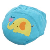 Toddlers Infant Reusable Washable Baby Newborn Flexible Diaper Pants Elephant
