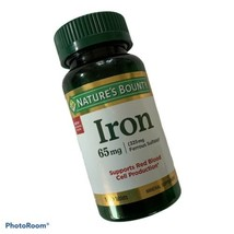 Nature's Bounty Iron 65 mg Tablets 100 Tablets  - $8.79