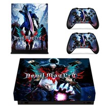 Devil May Cry 5 xbox one X skin decal for console and 2 controllers - $15.00
