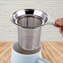 1PCS Stainless Steel Mesh Tea Infuser Tea Strainer Teapot Tea Leaf Spice... - $12.99