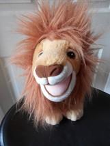 """Mattel Lion King Simba Large PLush Grown Up Lion 15"""" lgth 1993 - $24.09"""
