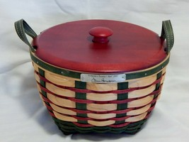 2007 Longaberger Welcome Home Bee Basket with Lid - $32.67