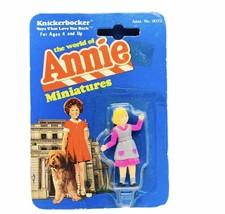 Little Orphan Annie miniature figure knickerbocker 1982 moc Pepper Sorre... - $29.65