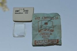 NOS Watch Crystal for Vintage HAMILTON Wristwatches (CMT 282-34)  21.8 X... - $18.65