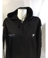 Speedo Men Black Zip Up Hoodie Long Sleeve Colorado Stars Logo On Back S... - $17.75