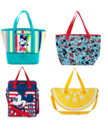 Disney Store Mickey Mouse Summer Fun Cooler Bag Lunch Tote New - $49.45+