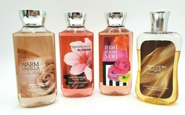 Bath and Body Works 4 Shower Gel Cherry Blossom Vanilla Sugar Mad About You - £21.90 GBP