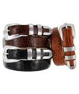 "The Norris - Italian Calfskin Leather  Designer Dress Belt, 1-1/8"" Wide - $29.95"