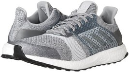 adidas Performance Womens UltraBOOST Street Running Shoe Grey/Silver BY1900 - $155.52