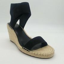 Vince Camuto Womens Levista Black Wedge Sandals Sz 11M NEW - $49.99