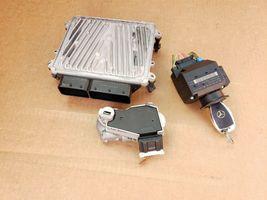 06 Mercedes CLK350 E350 Engine Computer Ignition Switch FOB ECU EIS ISL Set image 8