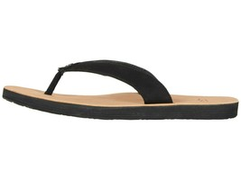 UGG TAWNEY Black Women's Leather Flip-Flop Sandals 1094677 - $56.00