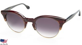 New Dita Glambassador DVT-300-D-RED-GLD-50 Red Gold /GREY Grad Lens Eyeglasses - $98.98