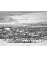 SALT LAKE CITY Utah City Western Section - 1883 German Print - $16.20