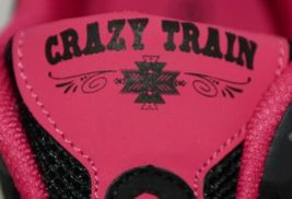 Crazy Train RUNWILD14 Black Pink Cheetah Sneakers Size 9 image 6