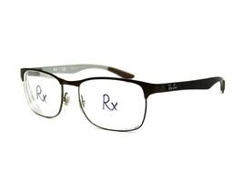 Ray Ban RB 8416 Carbon Fibre Men's Eyeglasses Frame, 2915 Brown. 53-17-145 #64D - $79.15