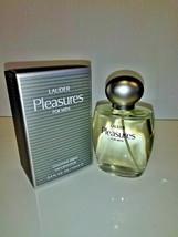 Estee Lauder Pleasure Men Cologne Spray Vaporisateur 3.4 oz New In Box - $59.39