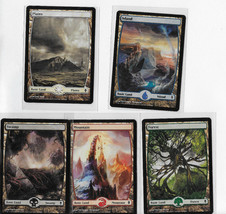 MTG full art Land Cards - $4.75