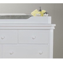 Sorelle vista elite dresser topper WHITE - $168.29