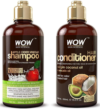 Apple Cider Vinegar Shampoo And Hair Conditioner 16.9 Fl Oz NEW - $35.57