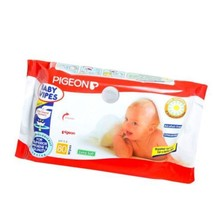 Pigeon Hand & Mouth Wipes For Baby Skin-Prevents Baby Skin From Rashes-8... - $17.03