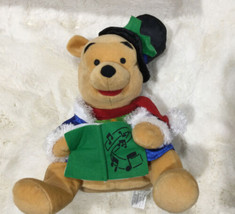 "Winnie the Pooh Christmas Musical Plush - Disney Store 10"" - $15.84"