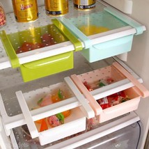 Slide Fridge Freezer Cabinet Space Saver Layer Under Shelf Holder Storag... - $4.75