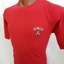 Starter University Nevada Las Vegas Rebels UNLV Embroidered Graphic T Sh... - $22.82