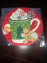 Christmas gingerbread plate - $19.68