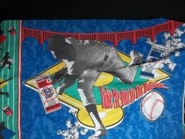 Vintage MLB Standard Pillowcase Made in USA World Series Baseball - $10.66