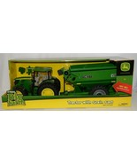 John Deere TBEK46284 Big Farm 6210R Tractor With Grain Cart - $64.99